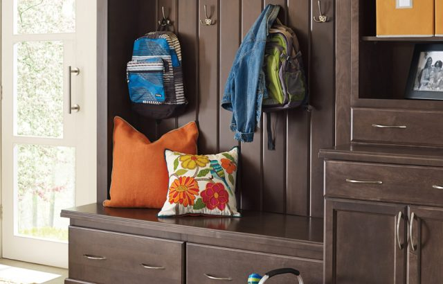 pin egg over flanking with floating beautiful unit beadboard mudroom accented shelving cabinets cabinet blue trim duck